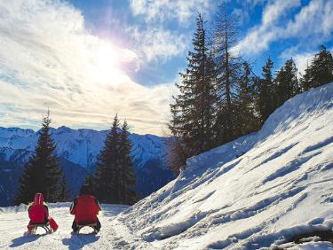 vacances de noel à la montagne pour les sports d'hiver