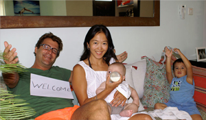Founder family: Suzy & Marc